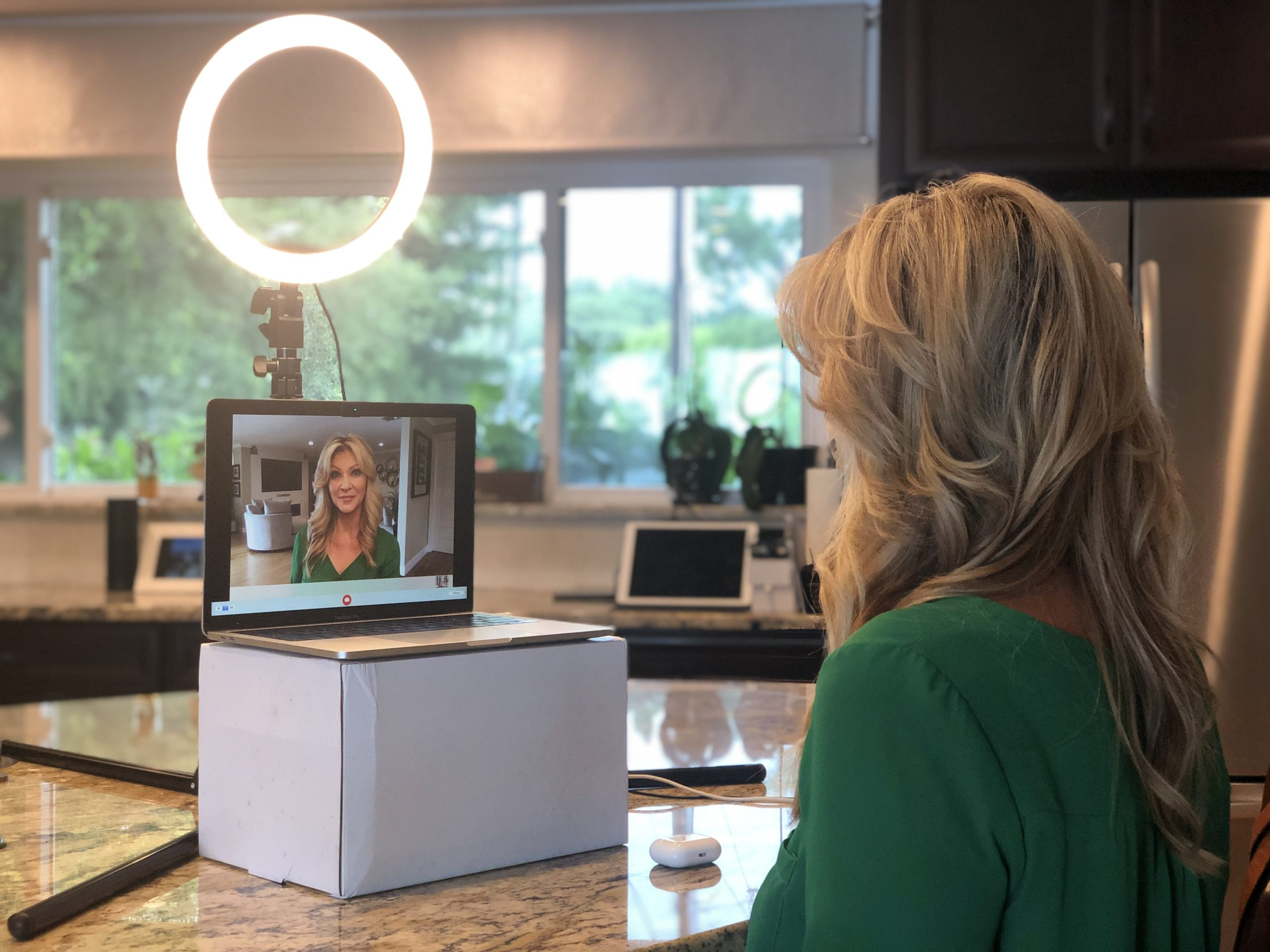 Camera and Lighting placement for looking good on video chats and virtual meetings, Zoom, Skype, Google Meets, Microsoft Meetup, IGTV